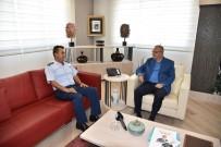 GARNİZON KOMUTANI - Hava Meydan Komutanından Başkan Ergün'e Teşekkür