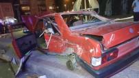 İki Otomobil Çarpıştı Açıklaması 5 Yaralı