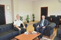 İl Jandarma Komutanı Albay Oğuz, Rektör Şengörür İle Görüştü