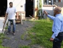 BANKACıLıK DÜZENLEME VE DENETLEME KURUMU - İninde basılan FETÖ'cü hain odunla saldırdı