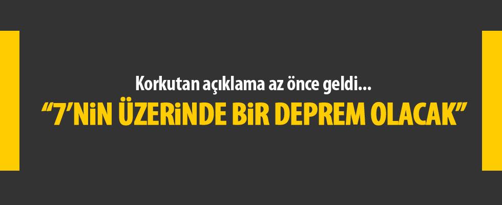 İstanbul için korkutan 'deprem' uyarısı