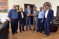 ALİ KORKUT - Köy Mahalle Muhtarlarından Korkut'a Teşekkür