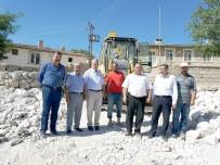 KURUGÖL - Kurugöl Köyü Alt Yapı Çalışmaları Tamamlandı