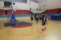 KULÜP BAŞKANI - Melikgazi Belediyespor Basketbol Takımı Yerel Lig'de
