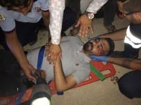 Nusaybin'de Trafik Kazası Açıklaması 2 Yaralı