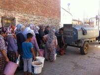SU TÜKETİMİ - Ödemiş'te Vatandaşları İsyan Ettiren Su Sıkıntısı