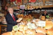 ESNAF VE SANATKARLARı KONFEDERASYONU - Palandöken, 'En Çok Ekmek İsrafı Fırın Ve Hanelerde Yapılıyor'