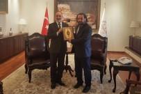 KARAMANOĞLU MEHMETBEY ÜNIVERSITESI - Rektör Akgül'den Diyanet İşleri Başkanına Ziyaret