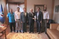 Selka Eskişehir Hentbol Spor Kulübü'nden Rektör Gündoğan'a Teşekkür Ziyareti