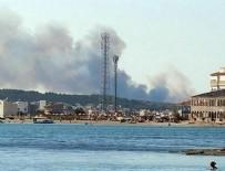 BALıKESIR BELEDIYESI - Şeytan Sofrası'nda büyük yangın