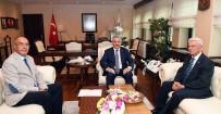 FEVZI APAYDıN - TŞOF Başkanı Apaydın'dan Ulaştırma Bakanı Ahmet Aslan'a Ziyaret