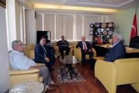 ŞABAN ÜNLÜ - Vali Kamçı'nın Kurum Ziyaretleri Devam Ediyor