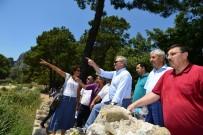 POLAT KARA - Vali Karaloğlu Turizm Alanlarını İnceledi
