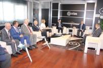 ERCAN TOPACA - Vali Topaca'dan OSTİM'e Ziyaret