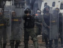 GÜVENLİK GÖREVLİSİ - Venezuela'da hapishanede çatışma: 37 ölü