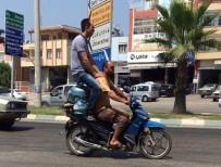 Adana'da 'Bu Kadarına Pes' Dedirten Görüntü