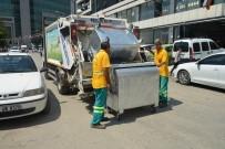 ÇÖP KONTEYNERİ - Akdeniz Belediyesi, Çöp Konteynerlerini Yeniliyor