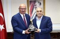 FARKıNDALıK - ATO Yönetimi Gıda, Tarım Ve Hayvancılık Bakanı Fakıbaba'yı Ziyaret Etti