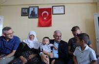 BİNALİ YILDIRIM - Başbakan Yıldırım'dan 15 Temmuz Şehidi Samet Cantürk'ün Ailesine Taziye Ziyareti