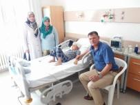 VEZIRHAN - Başkan Duymuş'tan Hasta Ziyaretleri