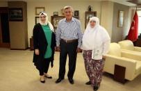 İBRAHIM KARAOSMANOĞLU - Başkan Karaosmanoğlu, Zeynep Başkanı Ağırladı
