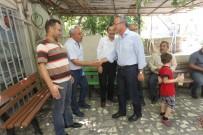 GEBZELI - Başkan Köşker'den Arapçeşme'de Esnaf Turu