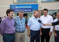 AYHAN SEFER ÜSTÜN - Başkan Toçoğlu Ve Sakaryalı Vekiller, Traktör Kazasında Yaralanan İşçileri Ziyaret Etti
