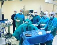 Batman'da Laparoskopi Yöntemi İle Rahim Alma Ameliyatı Yapıldı