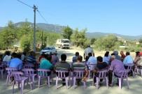 HIRSIZ - Burdur'da Köylülerin Sandalyeli Yol Kapatma Eylemi