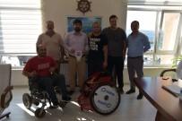 TEKERLEKLİ SANDALYE BASKETBOL - Çanakkale Boğazgücü'nün Yıldızı Davut Çalışkan'a Yeni Tekerlekli Sandalye