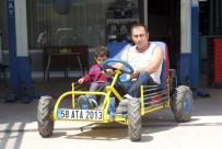 MOTOR USTASI - Çocuklarıyla Gezmek İçin 4 Bin Liraya Araç Yaptı