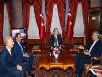 BEYLERBEYİ SARAYI - Cumhurbaşkanı Erdoğan, Demirören ve Lucescu'yu kabul etti