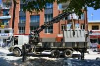 ÇÖP KONTEYNERİ - Erbaa Cumhuriyet Meydanına Yer Altı Çöp Konteyneri
