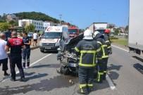 Fatsa'da Trafik Kazaları Açıklaması 13 Yaralı