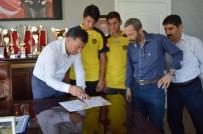 KULÜP BAŞKANI - Gölbaşı Belediyespor'dan Ankaragücü'ne Transfer