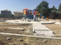 BAĞLAMA - İpekyolu Belediyesinden Park Yapımı