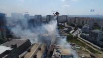 SARMAŞıK - İstanbul'da Kağıt Fabrikasında Yangın