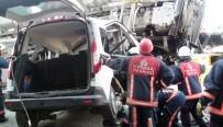BETON MİKSERİ - Kadıköy'de Beton Mikseri Dehşeti Açıklaması 1 Ölü, 7 Yaralı