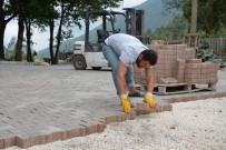 Kartepe'de Üst Yapı Çalışmaları Sürüyor
