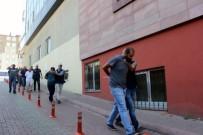 Kayseri'de PKK Propagandası Yapan 9 Kişi Adliyeye Sevk Edildi
