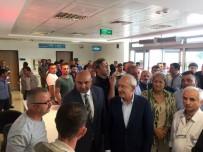 Kemal Kılıçdaroğlu, Traktör Kazasında Yaralanan İşçileri Ziyaret Etti