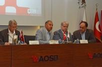 Lübnan Heyeti, AOSB'de Sanayicilerle İşbirliği İmkanlarını Görüştü