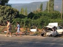 Milas'ta Trafik Kazası Açıklaması 2 Ölü, 3 Yaralı