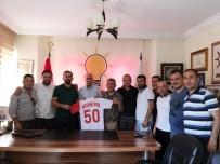 KULÜP BAŞKANI - Nevşehirspor Yöneticileri AK Parti'yi Ziyaret Etti