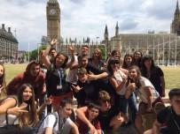 BEYLERBEYI - Öğrenciler Yaz Tatilinde İngiltere'de Eğitim Aldı
