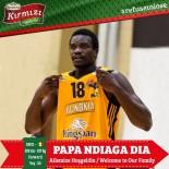 AVRUPA - Papa Ndigia Dia, Bandırma Kırmızı'da