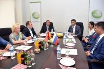 MUSTAFA HAKAN GÜVENÇER - Rusya Sanayi Bakanı Yardımcısı Kalamanov, Akhisar'da