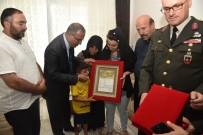 JANDARMA ASTSUBAY - Şehit Askerin 'Şehadet Belgesi' Ailesine Takdim Edildi