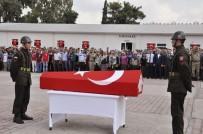 HACI BAYRAM TÜRKOĞLU - Şehit Jandarma Uzman Çavuş Abdullah Akdeniz Memleketine Törenle Uğurlandı