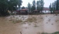 SARAYCıK - Şiddetli Yağış Altıntaş'ın Köylerinde Etkili Oldu